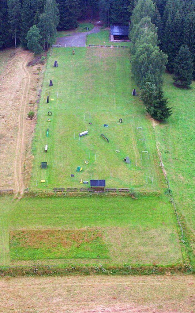 Über 10.000 m² Übungsgelände